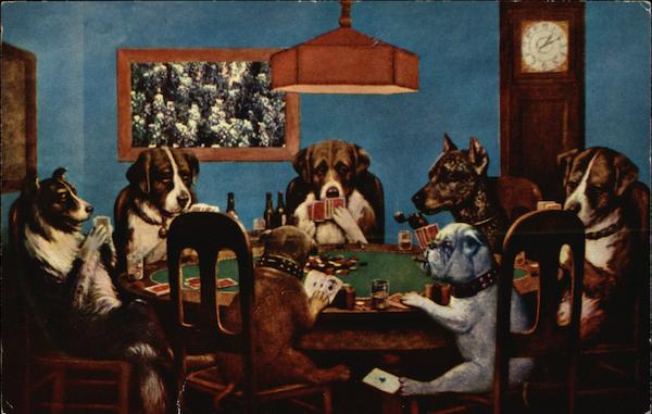 Rock's Round Barn - Dogs Playing Poker Spring Green Wisconsin