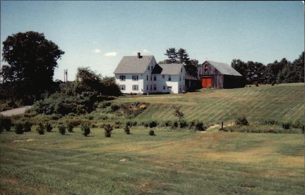 Cathedral House Bed & Breakfast Rindge New Hampshire