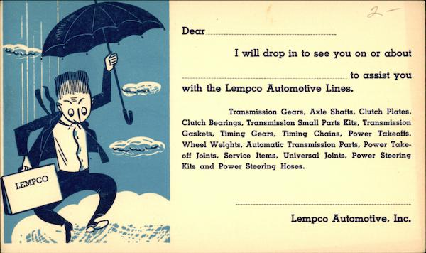 Lempco Automotive, Inc Advertising
