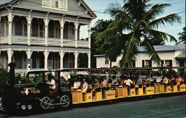 Conch Tour Train Key West Florida