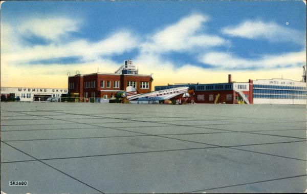 Cheyenne Municipal Airport serving Cheyenne, and Vicinity with all Leading Airlines Wyoming