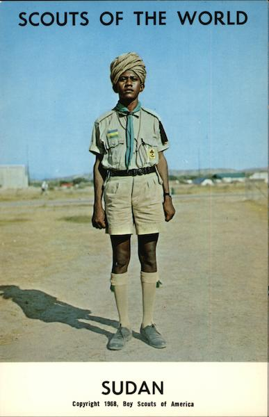 1968 Scouts of the World, Sudan Boy Scouts