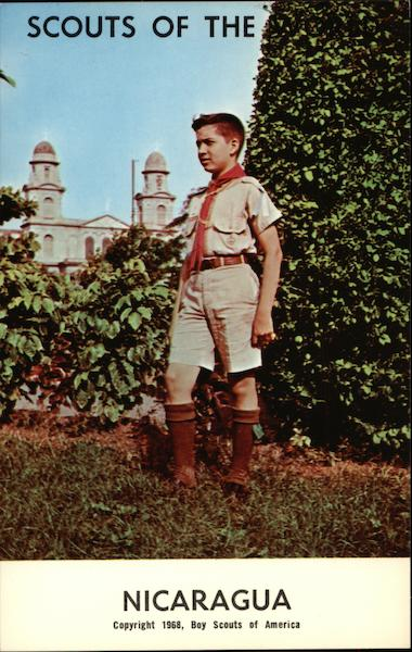 1968 Scouts of the World - Nicaragua Boy Scouts