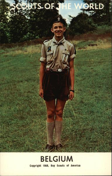 1968 Scouts of the World - Belgium Boy Scouts