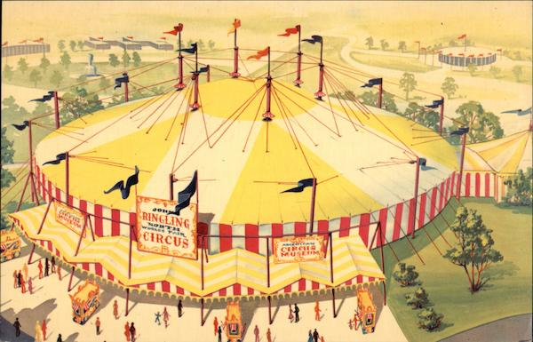 Continental Circus New York 1964 NY Worlds Fair