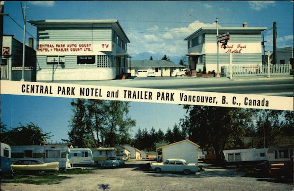 Central Park Motel and Trailer Park Vancouver Canada