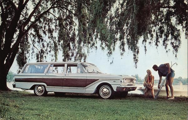 63 Ford Fairlane Squire Wagon Cars