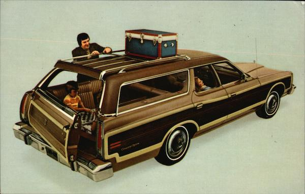 1974 Ford Country Squire Cars
