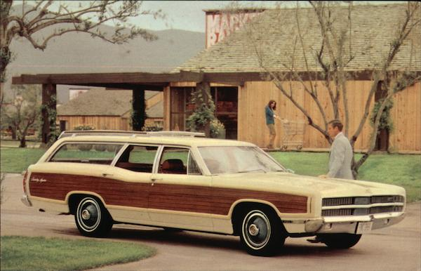 1969 Ford Country Squire Cars