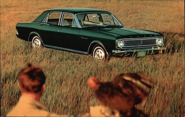 1966 Falcon Futura 4-Door Sedan Cars