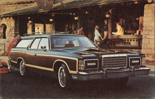 1977 Ford LTD Country Squire Wagon Cars