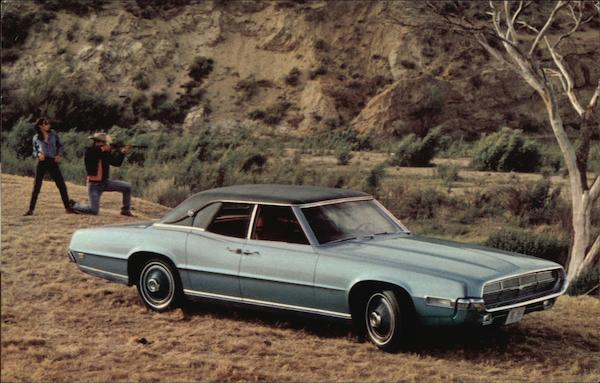 1969 Thunderbird 4-Door Landau Cars