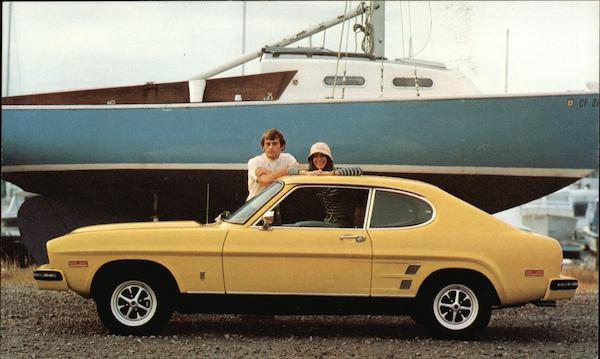 Capri 2800 V-6 2-Door Sport Coupe Cars