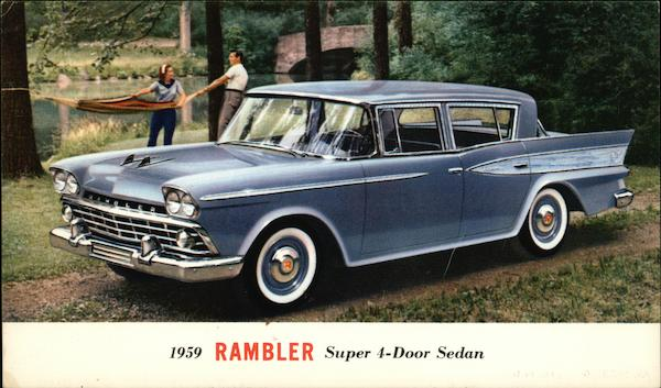 1959 Rambler Super 4-Door Sedan Cars