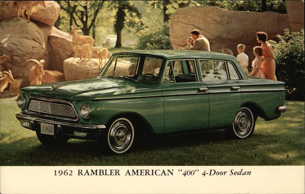 1962 Rambler American 400 4-door sedan Cars