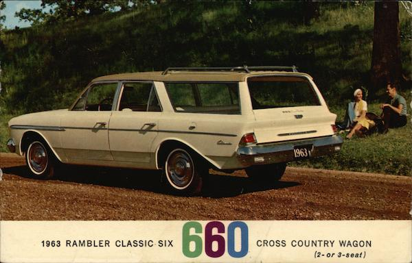 1963 Rambler Classic Six 660 Cross Country Wagon Cars