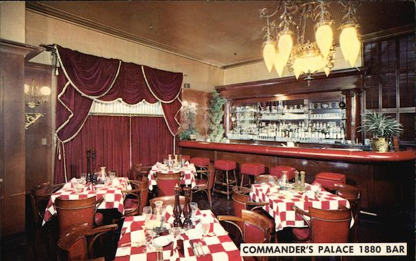 Commander's Palace - 1880 Bar New Orleans Louisiana