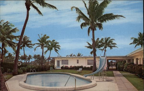 Pool Area of Cote D'Azure Delray Beach Florida