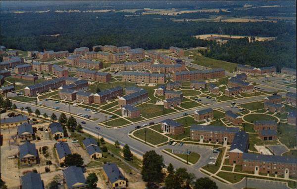Aerial View of Fort Meade Heights Maryland
