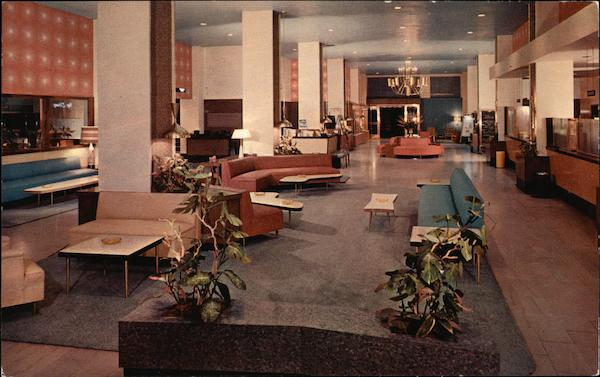 Alexandria Hotel - Lobby Los Angeles California