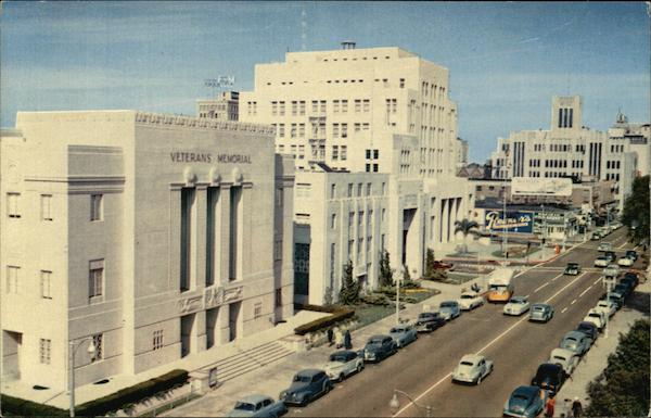 Civic Center Long Beach` California