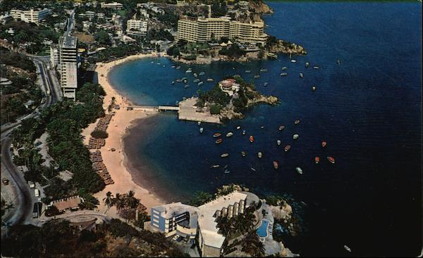 Aerial View Of Caleta Beach