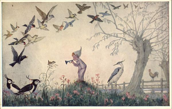 Dawn Chorus by Molly Brett Dressed Animals