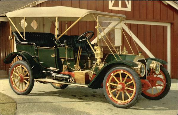 1910 Model 15-30 Stearns Touring Car Cars