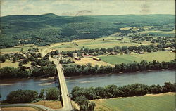 A View of Sunderland, Massachusetts and Connecticut River from Mt. Sugarloaf