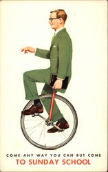 Man on Unicycle