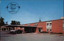 Towne House Hotel Postcard