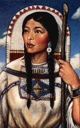 "Sacagawea, ""Bird Woman"""