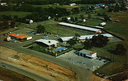 Aerial View of Hinton's Motor Lodge