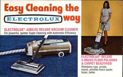 Easy Cleaning the Electrolux Way