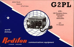G2PL, Redifon Communications Equipment
