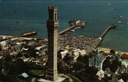Aerial View of Pilgrim Monument