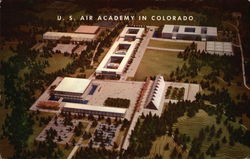 Scale Model of U.S. Air Academy in Colorado