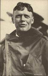 "Charles A. Lindbergh ""Lucky Lindy"""