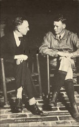 Clarence Chamberlain and Capt. Charles Lindbergh
