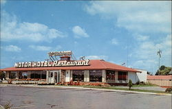 Flying Dutchman Motor Hotel Postcard