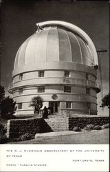 The W. J. McDonald Observatory of the University of Texas
