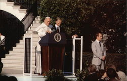 Pope John Paul II and President Carter