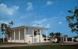 Chapel & Main Entrance - Our Lady of Florida Passionist Monastery & Retreat House Postcard