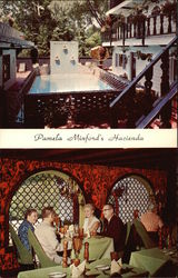 Pool & Dining Areas at Pamel Minford's Hacienda