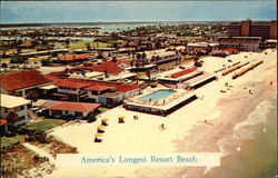America's Longest Resort Beach, Tides Hotel & Bath Club