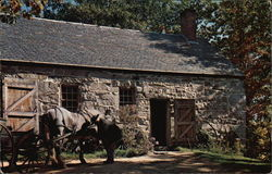 The Moses Wilder Blacksmith Shop in Old Sturbridge Village - Built before 1820