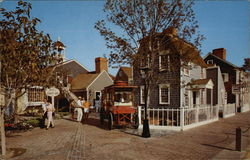 An Entrance to Whaler's Wharf Postcard