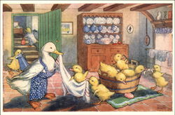 Duckling's Bath Time