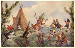 """Cowboys and Indians"" by Molly Brett"