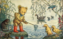 """Caught A Tadpole, Teddy?"" by Molly Brett"